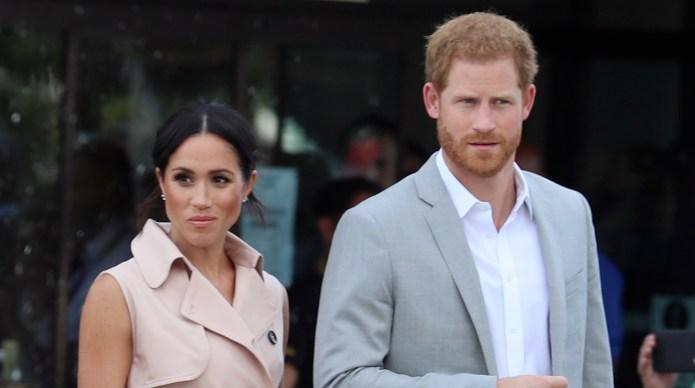 Meghan Markle & Prince Harry at