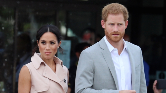 Meghan Markle & Prince Harry at