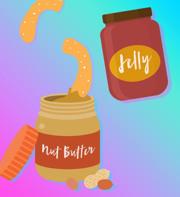 Soft pretzel pairings: Overhaul your PB&J by adding some pretzels into the mix