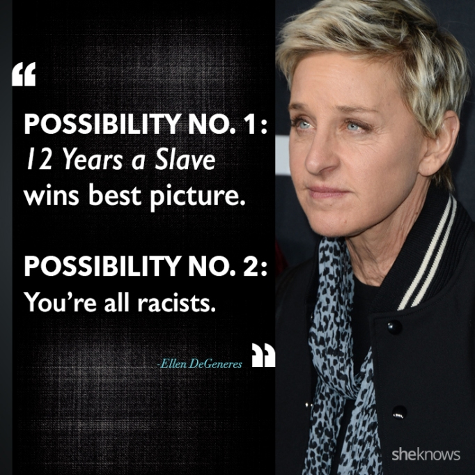Ellen DeGeneres race quote