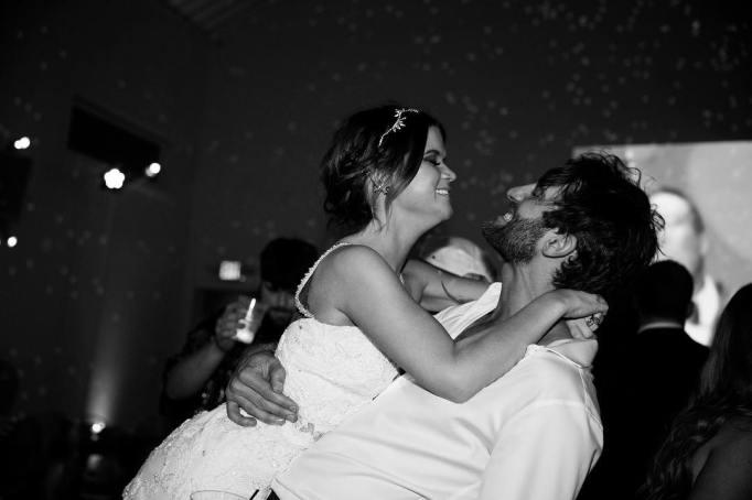 Celebrity Weddings Maren Morris and Ryan Hurd