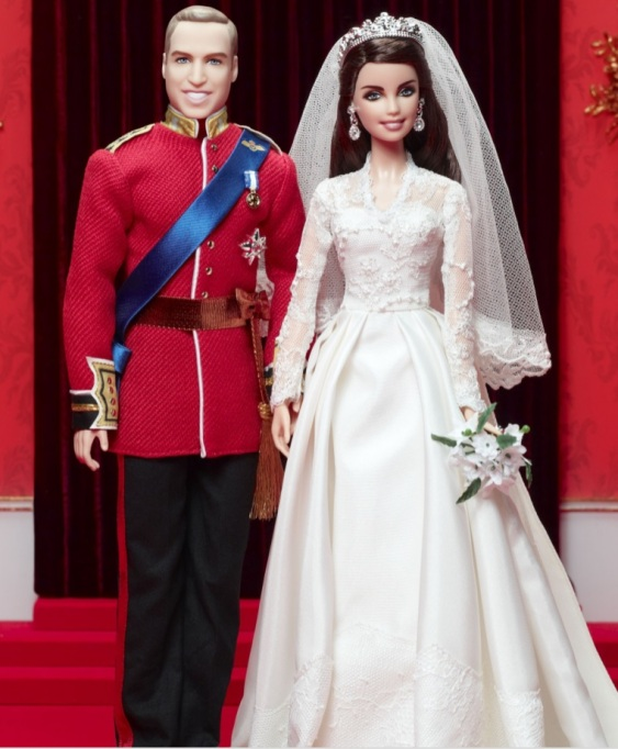Prince William & Kate Middleton Barbie