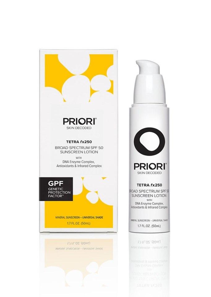 Priori TETRA SPF 50 Sunscreen