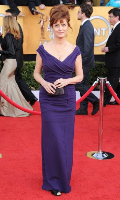 Ultra Violet On The Red Carpet | Susan Sarandon
