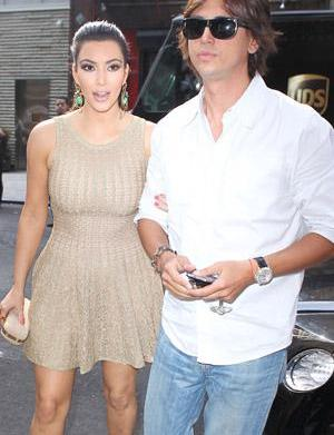 """Kim Kardashian pal """"flour bombed"""" in"""