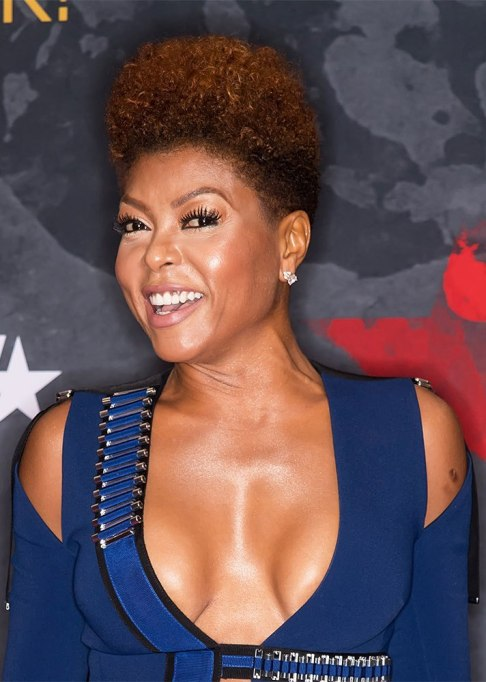Best Natural Hair Red Carpet Moments of 2017 | Taraji P. Henson