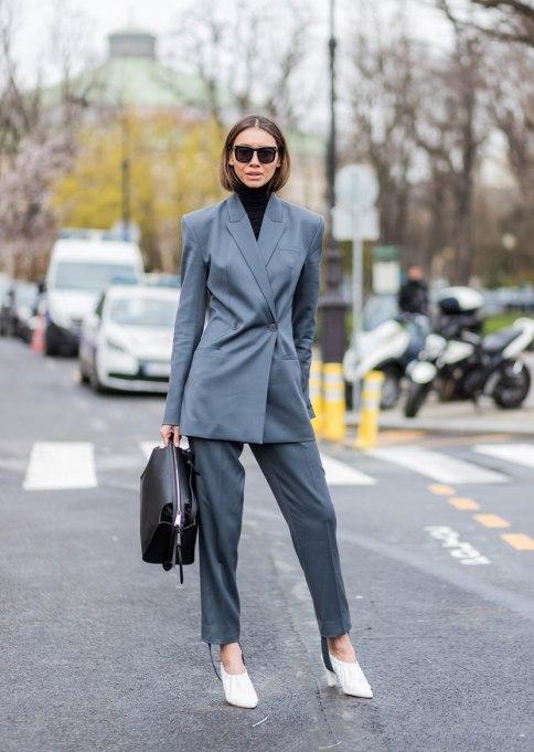 Ways To Wear A Turtleneck | Suit Sweater
