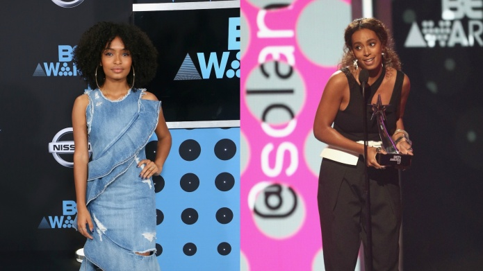 Solange Knowles & Yara Shahidi Give