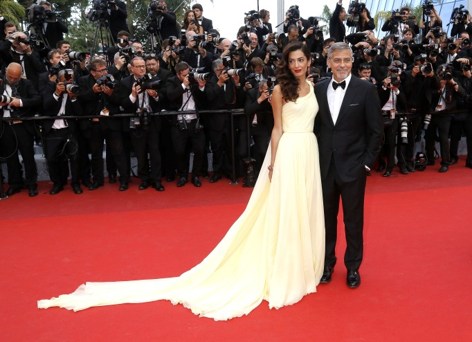Celebrities' first Father's Day - George Clooney