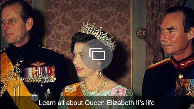 Queen Elizabeth II's life slideshow