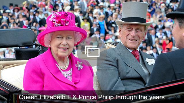 Queen Elizabeth II Prince Philip slideshow