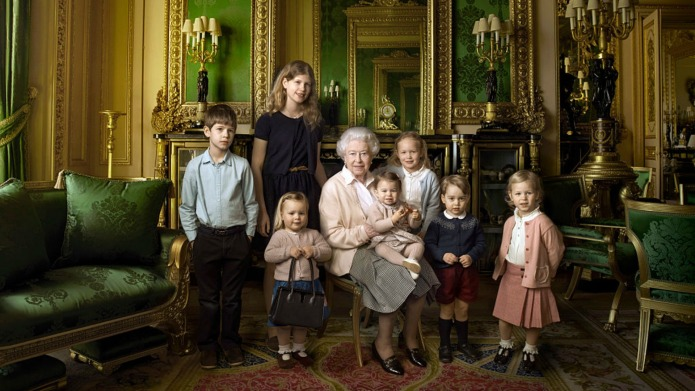 A young royal steals the show