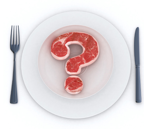 Question mark beef