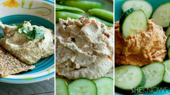 3 Tropical-flavored hummus recipes