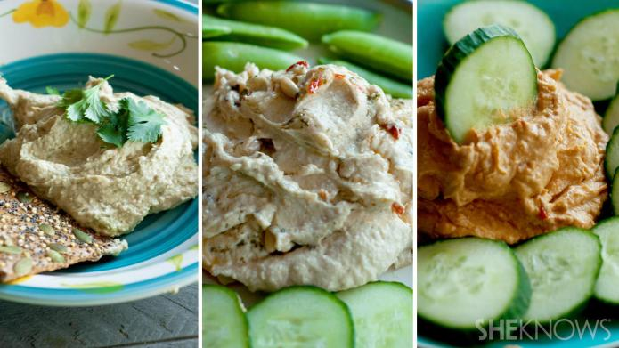 3 Tropical-flavored hummus recipes