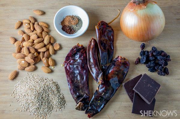 Quick chicken mole | SheKnows.com - ingredients