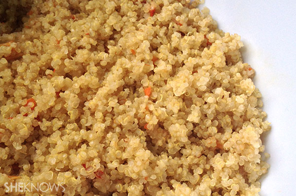 Quinoa curry salad | Sheknows.ca - third step