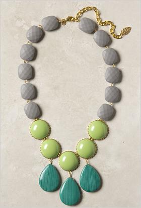 oversize necklace