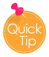 Quick Tip