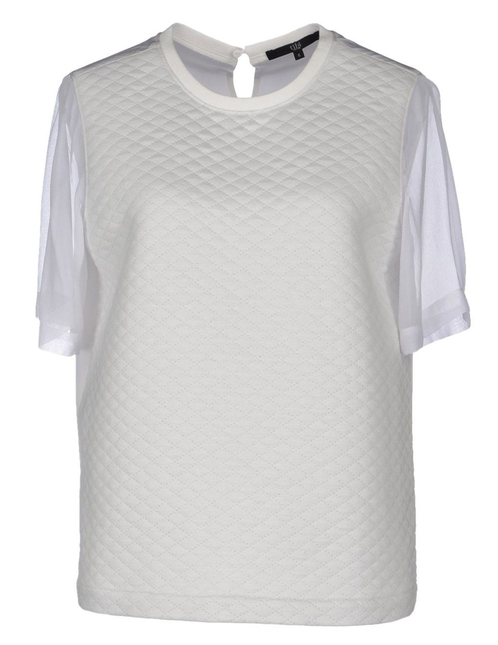 Tibi Quilted Blouse