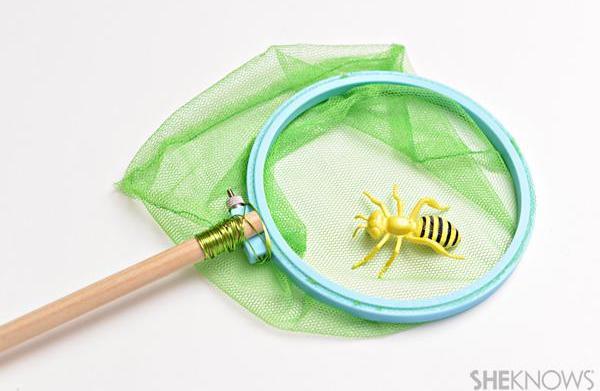 Bug hunt crafts for kids: DIY