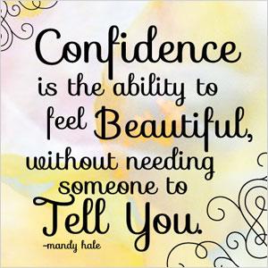 Confidence Mandy Hale quote   Sheknows.com