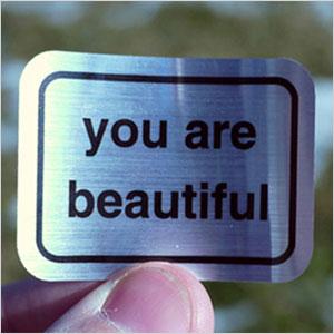 You Are Beautiful sticker   Sheknows.com