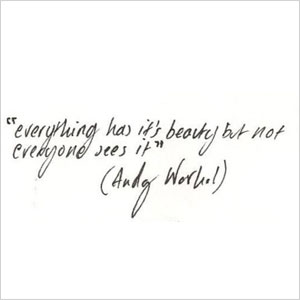 Andy Warhol quote | Sheknows.com