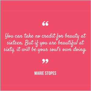 Marie Stopes quote | Sheknows.com