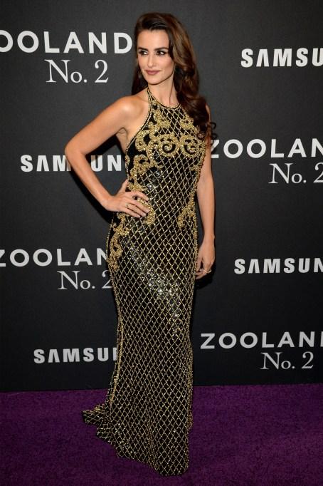 Penelope Cruz at Zoolander premiere