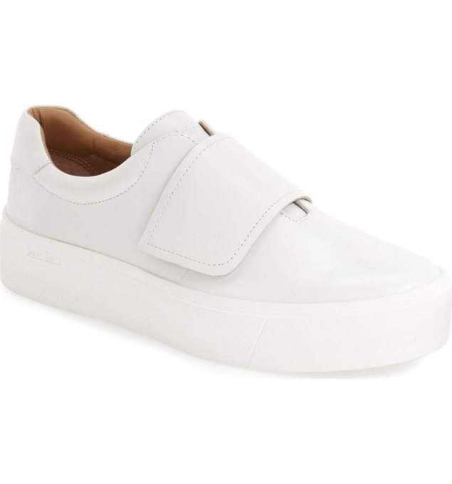 Modern Pieces For Every Woman's Work Wardrobe | Calvin Klein sneakers