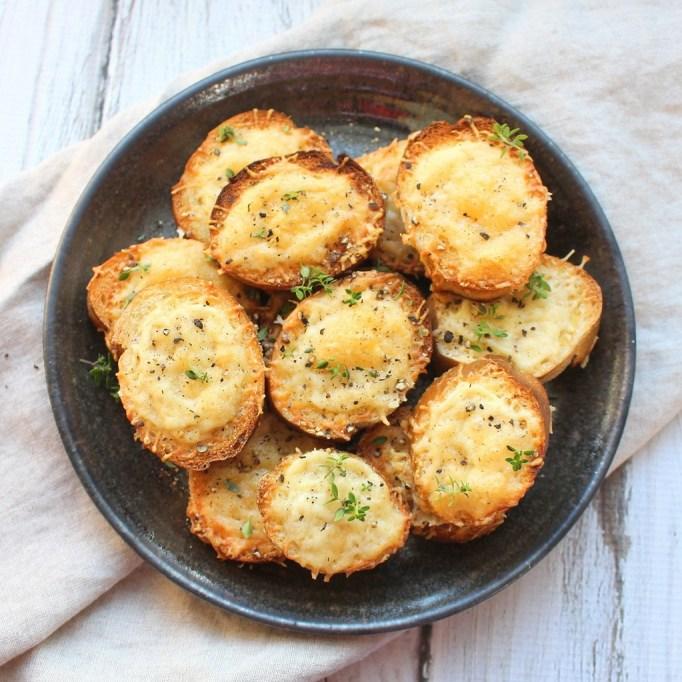 Irish cheese toasties on a plate