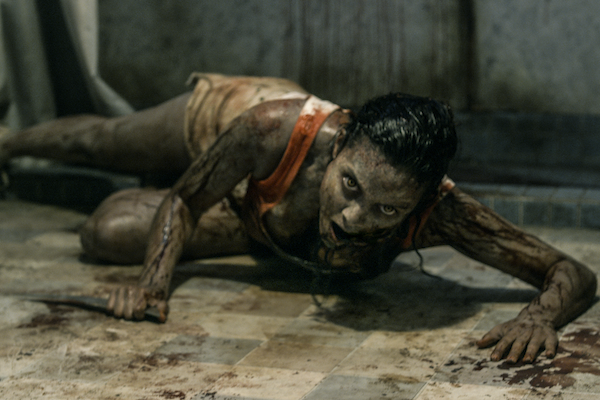 Evil Dead leaves bloodstains at the