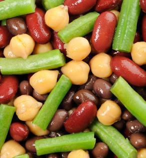 Four Bean Easter Salad