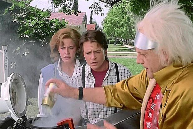 Back to the Future biodiesel