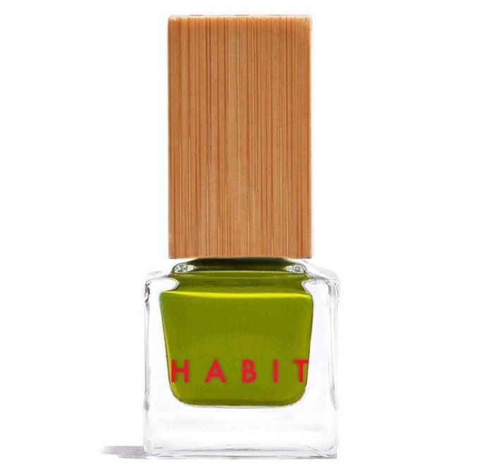 Ugly Nail Polish Colors Are Trending For Summer 2017: Habit Nail Polish in Moss | Summer Makeup Trends 2017