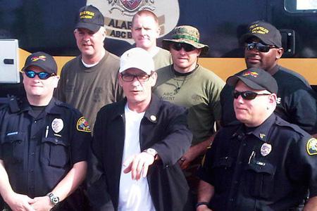 Charlie Sheen helping Alabama tornado victims,