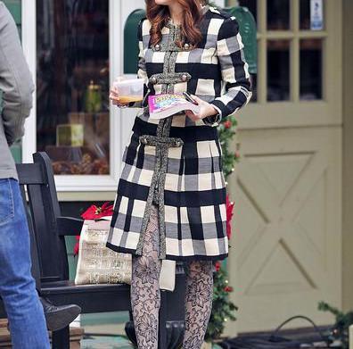 Get Leighton Meester's wintertime look