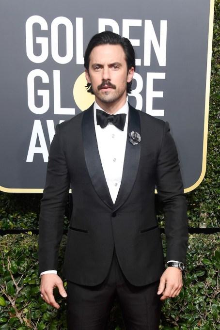 Best Golden Globes fashion 2018: Milo Ventimiglia