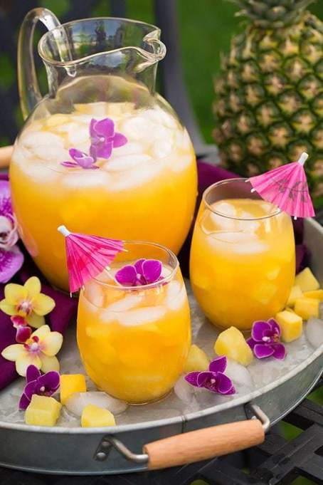 Pineapple Mango Lemonade