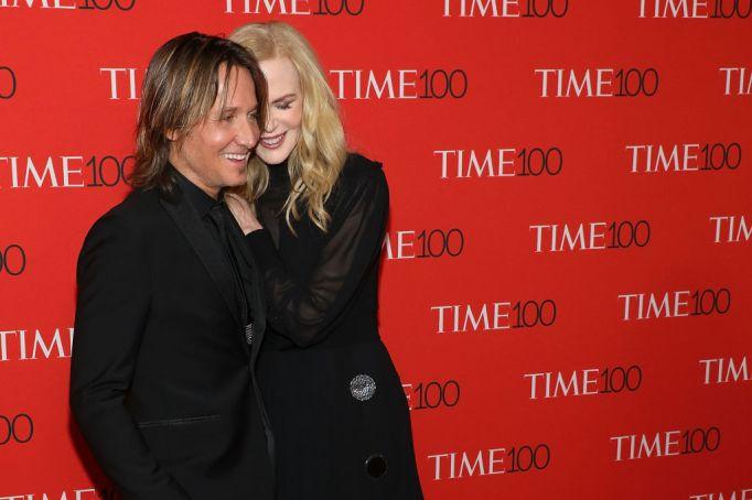 Nicole Kidman & Keith Urban at Time 100