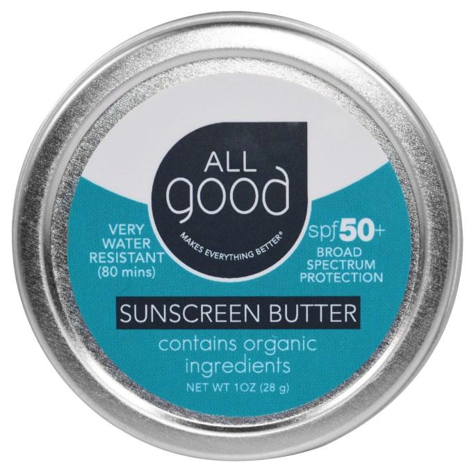 All Good Sunscreen Butter