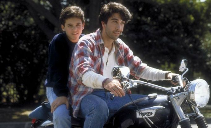 David Schwimmer and Fred Savage on The Wonder Years