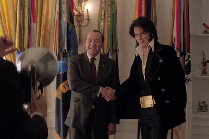 Kevin Spacey and Michael Shannon in Elvis and Nixon