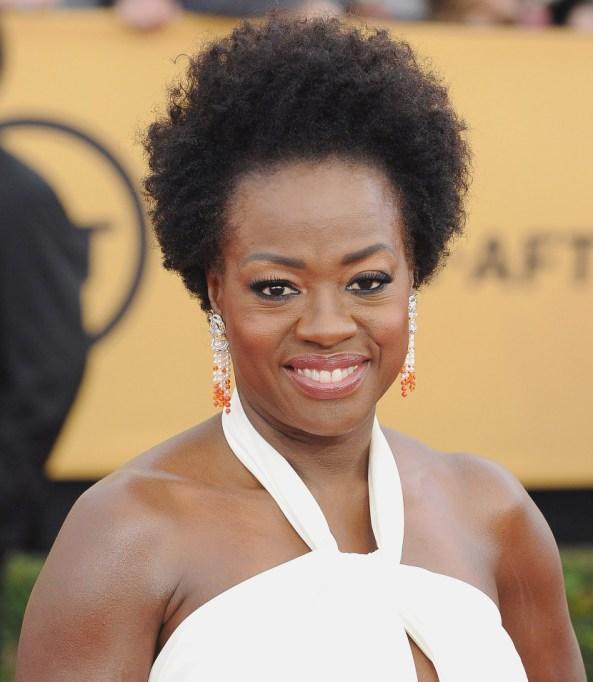 Celebrities Who Embraced Their Natural Hair Texure: Viola Davis