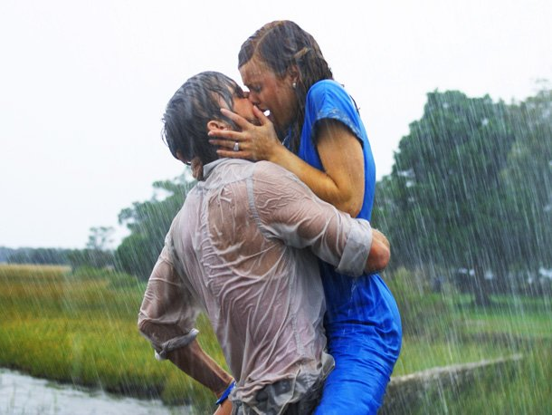 movie kisses The Notebook