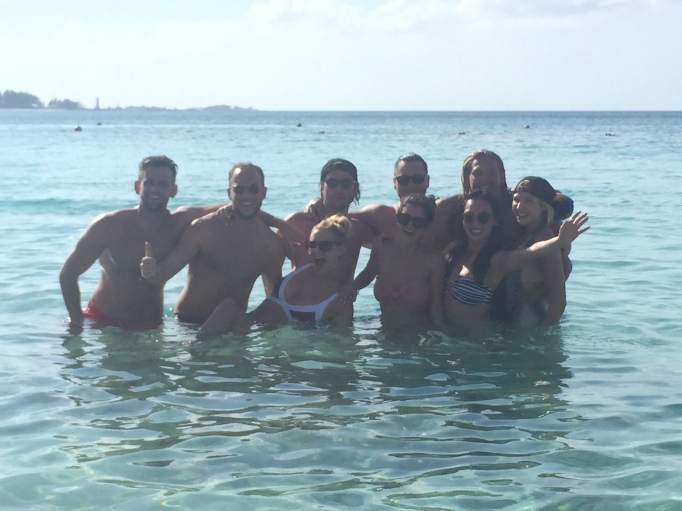 #RichKids of Beverly Hills pose for a picture in the Bahamas