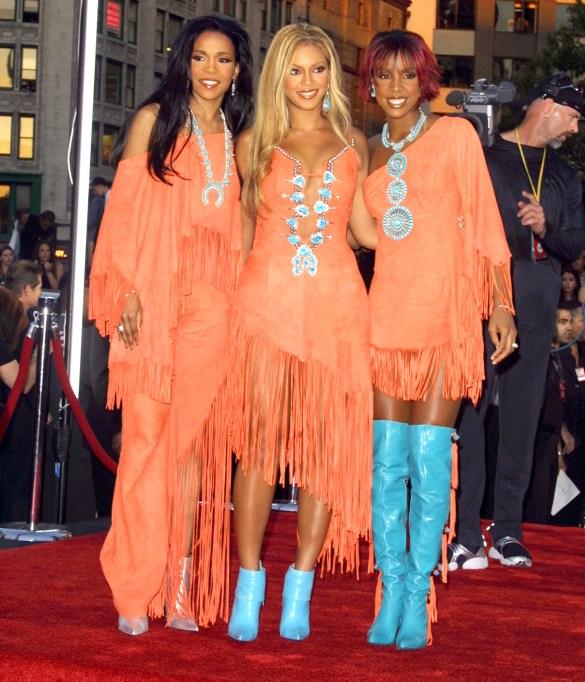 Destiny's Child at the 2001 MTV VMAs
