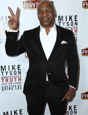 Mike Tyson to become a real-life
