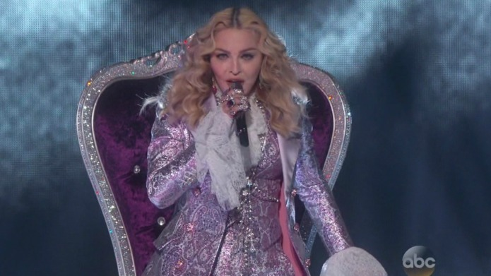 Madonna gets dissed and 10 other